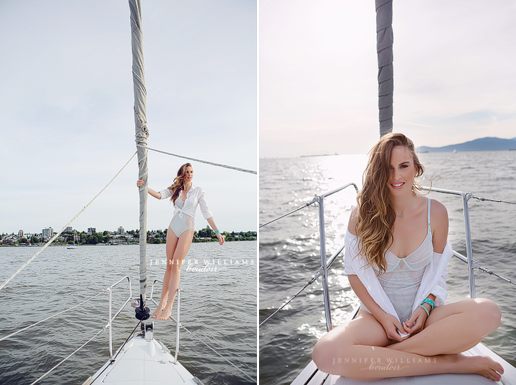jennifer williams boudoir photography vancouver canada outdoor boudoir lingerie editorial on a sailboat 0006