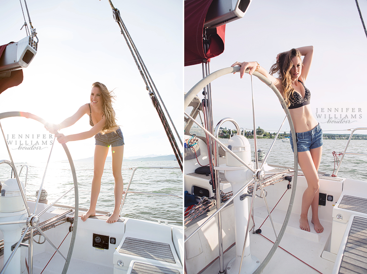 jennifer williams boudoir photography vancouver canada outdoor boudoir lingerie editorial on a sailboat 0009