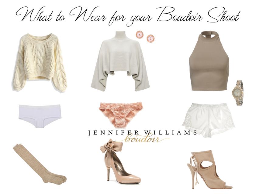 lingerie alternatives for a boudoir photo shoot