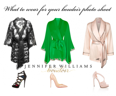 what to wear for your boudoir shoot robes
